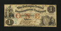 Obsoletes By State:Iowa, Dubuque, IA- Dubuque Central Improvement Company $1 Jan. 15, 1858 . ...