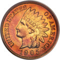 Proof Indian Cents, 1905 1C PR67 Red PCGS....