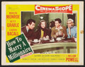 "Movie Posters:Comedy, How to Marry a Millionaire (20th Century Fox, 1953). Lobby Cards (2) (11"" X 14""). Comedy.. ... (Total: 2 Items)"