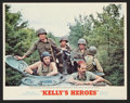 """Movie Posters:War, Kelly's Heroes (MGM, 1970). Lobby Card Set of 8 (11"""" X 14""""). War..... (Total: 8 Items)"""