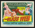 "Movie Posters:Crime, The Glass Web (Universal International, 1953). Lobby Card Set of 8(11"" X 14""). Crime.. ... (Total: 8 Items)"