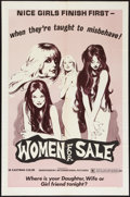 """Movie Posters:Sexploitation, Women for Sale (Independent International Pictures, 1975). OneSheet (27"""" X 41""""). Sexploitation.. ..."""