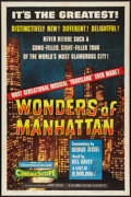 "Movie Posters:Short Subject, Wonders of Manhattan (Columbia, 1956). One Sheet (27"" X 41""). ShortSubject.. ..."