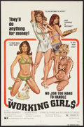 "Movie Posters:Sexploitation, The Working Girls (Dimension, 1974). One Sheet (27"" X 41"").Sexploitation.. ..."
