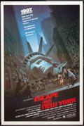 "Movie Posters:Action, Escape from New York (Avco Embassy, 1981). Poster (40"" X 60""). Action.. ..."