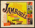 "Movie Posters:Rock and Roll, Jamboree (Warner Brothers, 1957). Half Sheet (22"" X 28""). Rock andRoll.. ..."