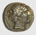 Ancients:Greek, Ancients: Caria, Knidos. Ca. 350-330/20 B.C. AR drachm (15 mm, 2.58g, 12 h)....