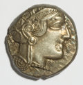 Ancients:Greek, Ancients: Attica, Athens. Ca. 454-404 B.C. AR tetradrachm (23 mm,17.14 g, 8 h)....