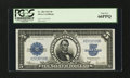Large Size:Silver Certificates, Fr. 282 $5 1923 Silver Certificate PCGS Gem New 66PPQ....