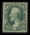 Stamps, 6c State (O60),...