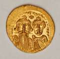 Ancients:Byzantine, Ancients: Heraclius. 610-641. AV solidus (20 mm, 4.48 g, 7 h)....