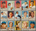 Baseball Cards:Lots, 1952 Topps Baseball Collection (15 Different). ...