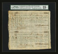 Colonial Notes:Continental Congress Issues, Continental Loan Office Bills of Exchange Third & Fourth Bills-$120 Feb. 12, 1779 Anderson US-100/CT-1A. PMG Very Fine 25....