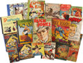 Memorabilia:Comic-Related, Comic-related Book Group (various, 1930s-40s) Condition: Average GD....