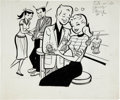 Original Comic Art:Covers, Harvey Hits #5 Stevie Cover Original Art (Harvey, 1958)....