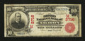 Akron, OH - $10 1902 Red Seal Fr. 613 The Second NB Ch. # (M)2716