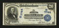 Athens, OH - $20 1902 Date Back Fr. 642 The Athens NB Ch. # (M)7744