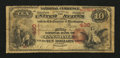 National Bank Notes:Pennsylvania, Lansdale, PA - $10 1875 Fr. 417 First NB Ch. # 430. ...