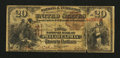 National Bank Notes:Pennsylvania, Philadelphia, PA - $20 1882 Brown Back Fr. 493 The Third NB Ch. #234. ...