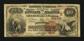National Bank Notes:Pennsylvania, Freedom, PA - $10 1882 Brown Back Fr. 490 The Freedom NB Ch. #(E)5454. ...