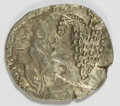Ancients:Judaea, Ancients: Judaea. Bar Kochba Revolt. 132-135 C.E. AR zuz (19 mm,3.18 g, 7 h). Undated, year 3 (134/5 C.E.)....