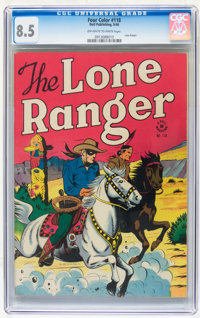 Four Color #118 The Lone Ranger (Dell, 1946) CGC VF+ 8.5 Off-white to white pages