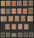 Stamps, U.S. Officials Mint and Used Collection, (O90//O138),...