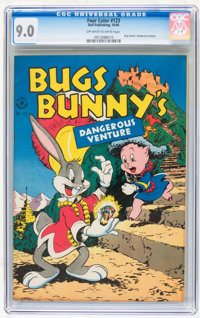 Four Color #123 Bugs Bunny (Dell, 1946) CGC VF/NM 9.0 Off-white to white pages