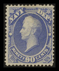 Stamps, 90c Navy (O45),...