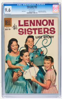 Four Color #951 The Lennon Sisters Life Story (Dell, 1958) CGC NM+ 9.6 Off-white pages