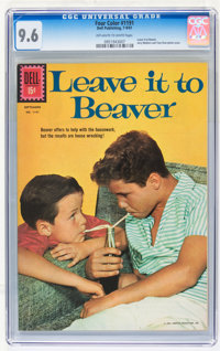 Four Color #1191 Leave it to Beaver (Dell, 1961) CGC NM+ 9.6 Off-white to white pages