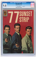 Silver Age (1956-1969):Adventure, Four Color #1211 - 77 Sunset Strip (Dell, 1961) CGC NM/MT 9.8 Off-white to white pages....