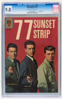 Four Color #1211 - 77 Sunset Strip (Dell, 1961) CGC NM/MT 9.8 Off-white to white pages