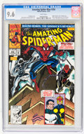 Modern Age (1980-Present):Superhero, The Amazing Spider-Man CGC-Graded Group (Marvel, 1991-92) CGC NM+ 9.6 White pages.... (Total: 4 Comic Books)