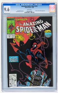 The Amazing Spider-Man CGC-Graded Group (Marvel, 1988-89) CGC NM+ 9.6 White pages.... (Total: 3 Comic Books)
