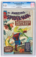 Silver Age (1956-1969):Superhero, The Amazing Spider-Man #24 (Marvel, 1965) CGC VF/NM 9.0 Cream to off-white pages....