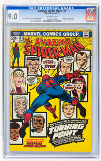 The Amazing Spider-Man #121 (Marvel, 1973) CGC VF/NM 9.0 Off-white pages