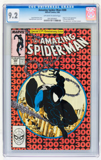 The Amazing Spider-Man #300 (Marvel, 1988) CGC NM- 9.2 Off-white to white pages