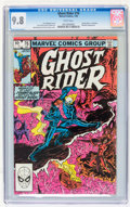 Modern Age (1980-Present):Superhero, Ghost Rider #76 (Marvel, 1983) CGC NM/MT 9.8 White pages....