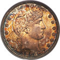 Barber Quarters, 1893-S 25C MS66 PCGS. CAC....