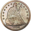 Seated Dollars, 1868 $1 MS61 ANACS....