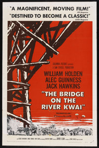 "The Bridge On The River Kwai (Columbia, 1958). One Sheet (27"" X 41"") Style A"