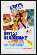 "Movie Posters:Elvis Presley, Clambake (United Artists, 1967). One Sheet (27"" X 41""). ElvisPresley. Starring Elvis Presley, Shelley Fabares, Will Hutchin..."