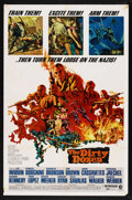 "Movie Posters:War, The Dirty Dozen (MGM, 1967). One Sheet (27"" X 41""). War. StarringLee Marvin, Ernest Borgnine, Charles Bronson, Jim Brown, J..."