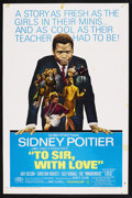 """Movie Posters:Drama, To Sir, with Love (Columbia, 1967). One Sheet (27"""" X 41""""). Drama. Starring Sidney Poitier, Suzy Kendall, Lulu, Judy Geeson, ..."""