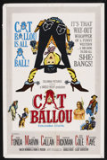 """Movie Posters:Comedy, Cat Ballou (Columbia, 1965). One Sheet (27"""" X 41""""). Comedy Western. ..."""
