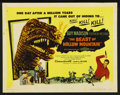 """Movie Posters:Science Fiction, The Beast of Hollow Mountain (United Artists, 1956). Half Sheet(22"""" X 28""""). Science Fiction. Starring Guy Madison, Patricia..."""