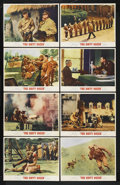 "Movie Posters:War, The Dirty Dozen (MGM, 1967). Lobby Card Set of 8 (11"" X 14""). War..... (Total: 8)"