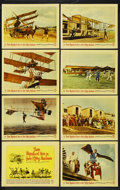 """Movie Posters:Adventure, Those Magnificent Men in Their Flying Machines (20th Century Fox,1965). Lobby Card Set of 8 (11"""" X 14""""). Adventure. ... (Total: 8)"""