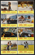"""Movie Posters:Drama, Two for the Road (20th Century Fox, 1967). Lobby Card Set of 8 (11""""X 14""""). ... (Total: 8)"""